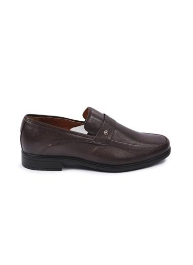 Ayakmod 715 Siyah Erkek Hakiki Deri Ayakkabı Kahve